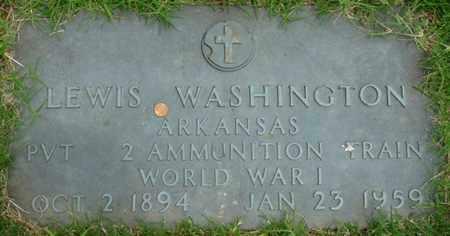 WASHINGTON (VETERAN WWI), LEWIS - Tulsa County, Oklahoma | LEWIS WASHINGTON (VETERAN WWI) - Oklahoma Gravestone Photos