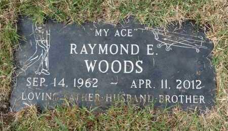WOODS, RAYMOND E. - Tulsa County, Oklahoma   RAYMOND E. WOODS - Oklahoma Gravestone Photos