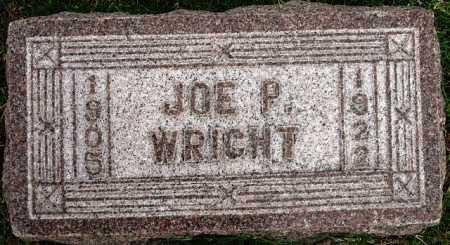 WRIGHT, JOE P - Tulsa County, Oklahoma   JOE P WRIGHT - Oklahoma Gravestone Photos