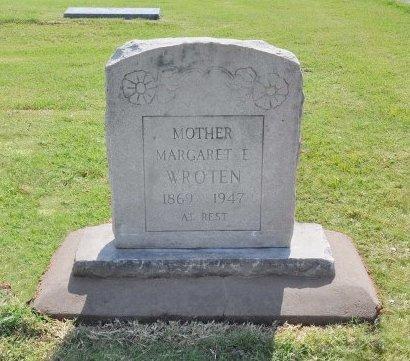STOUT WROTEN, MARGARET ELIZABETH - Tulsa County, Oklahoma | MARGARET ELIZABETH STOUT WROTEN - Oklahoma Gravestone Photos