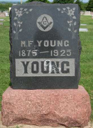 YOUNG, M.F. - Tulsa County, Oklahoma | M.F. YOUNG - Oklahoma Gravestone Photos