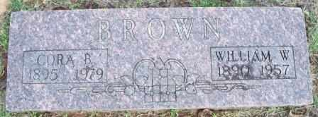 CANNON BROWN, CORA BELLE - Wagoner County, Oklahoma | CORA BELLE CANNON BROWN - Oklahoma Gravestone Photos