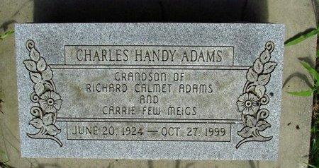 ADAMS, CHARLES - Washington County, Oklahoma | CHARLES ADAMS - Oklahoma Gravestone Photos