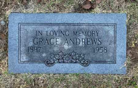 ANDREWS, GRACE - Washington County, Oklahoma   GRACE ANDREWS - Oklahoma Gravestone Photos