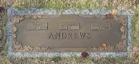 ANDREWS, ANTHNONY S - Washington County, Oklahoma | ANTHNONY S ANDREWS - Oklahoma Gravestone Photos