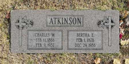 ATKINSON, CHARLES W - Washington County, Oklahoma | CHARLES W ATKINSON - Oklahoma Gravestone Photos
