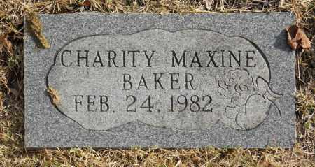 BAKER, CHARITY MAXINE - Washington County, Oklahoma | CHARITY MAXINE BAKER - Oklahoma Gravestone Photos