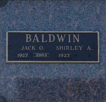 BALDWIN, SHIRLEY A - Washington County, Oklahoma   SHIRLEY A BALDWIN - Oklahoma Gravestone Photos