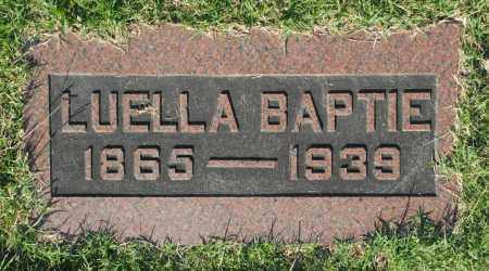 BAPTIE, LUELLA - Washington County, Oklahoma   LUELLA BAPTIE - Oklahoma Gravestone Photos