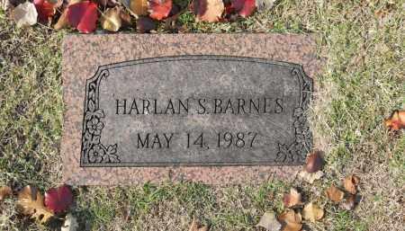 BARNES, HARLAN S - Washington County, Oklahoma | HARLAN S BARNES - Oklahoma Gravestone Photos