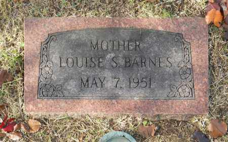 BARNES, LOUISE S - Washington County, Oklahoma   LOUISE S BARNES - Oklahoma Gravestone Photos