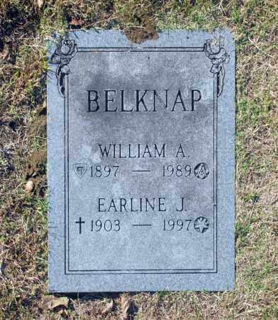 BELKNAP, WILLIAM A - Washington County, Oklahoma   WILLIAM A BELKNAP - Oklahoma Gravestone Photos
