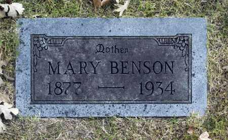 BENSON, MARY - Washington County, Oklahoma | MARY BENSON - Oklahoma Gravestone Photos
