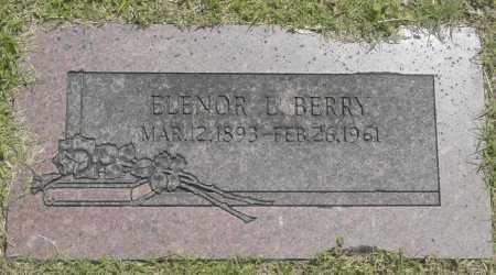 BERRY, ELENOR L. - Washington County, Oklahoma   ELENOR L. BERRY - Oklahoma Gravestone Photos