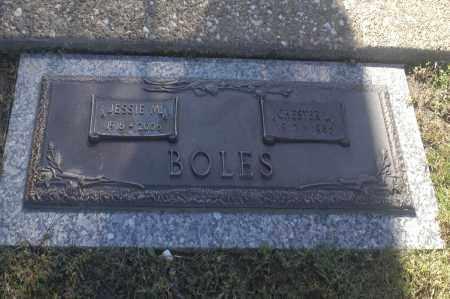BOLES, JESSIE M - Washington County, Oklahoma   JESSIE M BOLES - Oklahoma Gravestone Photos