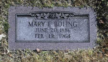 BOLING, MARY F - Washington County, Oklahoma | MARY F BOLING - Oklahoma Gravestone Photos
