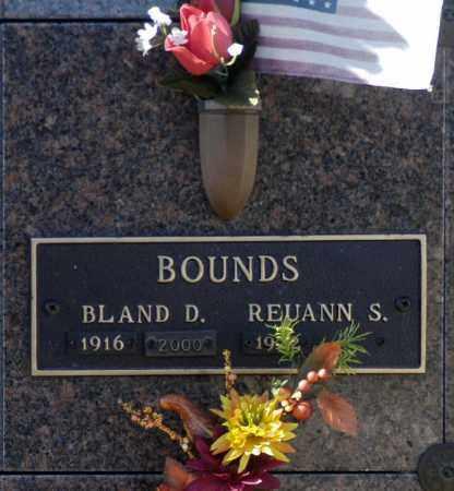 BOUNDS, BLAND D - Washington County, Oklahoma | BLAND D BOUNDS - Oklahoma Gravestone Photos
