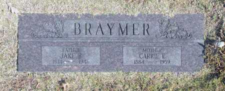 BRAYMER, CARRIE E - Washington County, Oklahoma   CARRIE E BRAYMER - Oklahoma Gravestone Photos