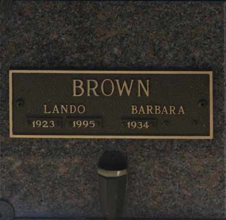 BROWN, BARBARA - Washington County, Oklahoma   BARBARA BROWN - Oklahoma Gravestone Photos