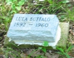 BUFFALO, LULA - Washington County, Oklahoma | LULA BUFFALO - Oklahoma Gravestone Photos