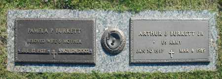 BURKETT, ARTHUR J. JR. - Washington County, Oklahoma   ARTHUR J. JR. BURKETT - Oklahoma Gravestone Photos