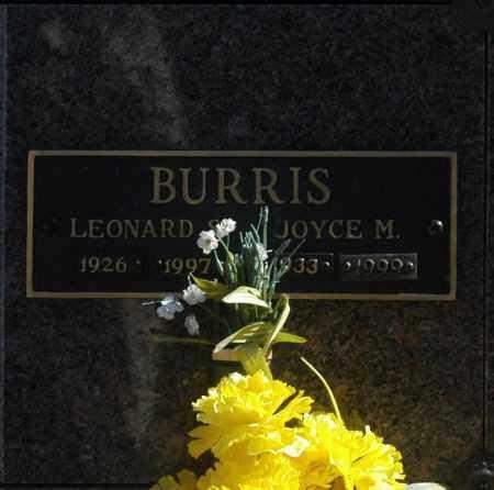 BURRIS, LEONARD S - Washington County, Oklahoma   LEONARD S BURRIS - Oklahoma Gravestone Photos