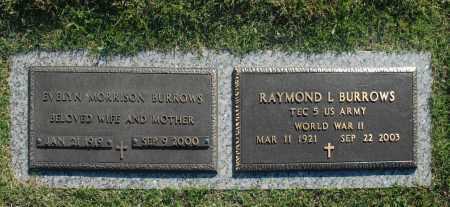 BURROWS, EVELYN - Washington County, Oklahoma | EVELYN BURROWS - Oklahoma Gravestone Photos