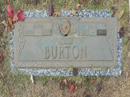 BURTON, ALVIN - Washington County, Oklahoma | ALVIN BURTON - Oklahoma Gravestone Photos