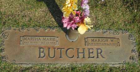BUTCHER, MARION W. - Washington County, Oklahoma | MARION W. BUTCHER - Oklahoma Gravestone Photos