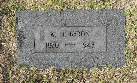 BYRON, W. H. - Washington County, Oklahoma   W. H. BYRON - Oklahoma Gravestone Photos