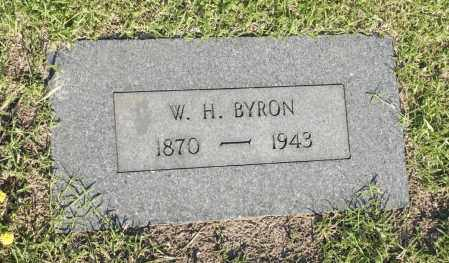 BYRON, W. H. - Washington County, Oklahoma | W. H. BYRON - Oklahoma Gravestone Photos