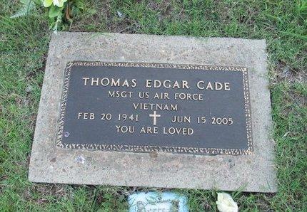 CADE, THOMAS - Washington County, Oklahoma | THOMAS CADE - Oklahoma Gravestone Photos