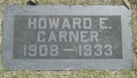 CARNER, HOWARD E. - Washington County, Oklahoma   HOWARD E. CARNER - Oklahoma Gravestone Photos