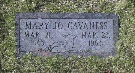 CAVANESS, MARY JO - Washington County, Oklahoma   MARY JO CAVANESS - Oklahoma Gravestone Photos