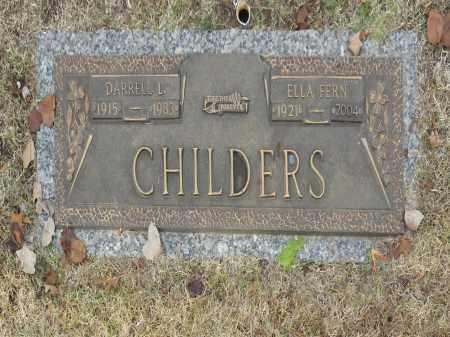 CHILDERS, ELLA FERN - Washington County, Oklahoma | ELLA FERN CHILDERS - Oklahoma Gravestone Photos