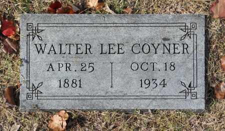 COYNER, WALTER LEE - Washington County, Oklahoma   WALTER LEE COYNER - Oklahoma Gravestone Photos