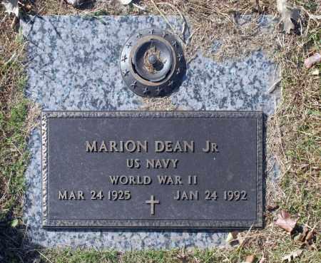 DEAN JR (VETERAN WWII), MARION - Washington County, Oklahoma | MARION DEAN JR (VETERAN WWII) - Oklahoma Gravestone Photos