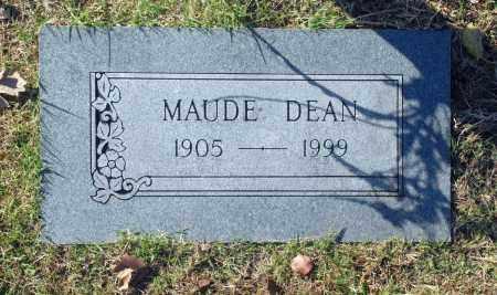 DEAN, MAUDE - Washington County, Oklahoma | MAUDE DEAN - Oklahoma Gravestone Photos