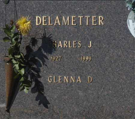 DELAMETTER, GLENNA D - Washington County, Oklahoma   GLENNA D DELAMETTER - Oklahoma Gravestone Photos