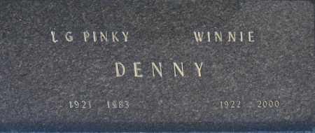 DENNY, WINNIE - Washington County, Oklahoma | WINNIE DENNY - Oklahoma Gravestone Photos