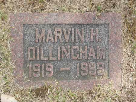 DILLINGHAM, MARVIN H - Washington County, Oklahoma | MARVIN H DILLINGHAM - Oklahoma Gravestone Photos