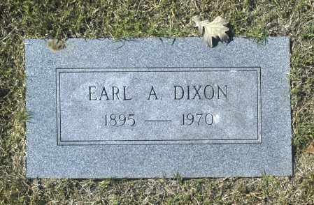 DIXON, EARL A - Washington County, Oklahoma   EARL A DIXON - Oklahoma Gravestone Photos