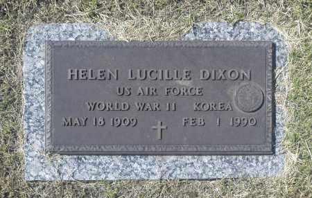 DIXON, HELEN LUCILLE - Washington County, Oklahoma   HELEN LUCILLE DIXON - Oklahoma Gravestone Photos