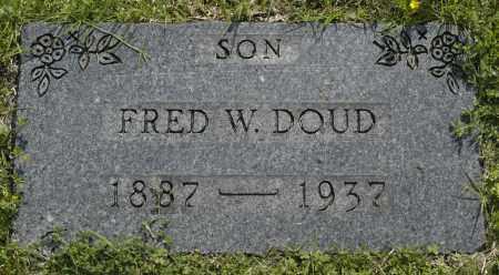 DOUD, FRED W. - Washington County, Oklahoma | FRED W. DOUD - Oklahoma Gravestone Photos