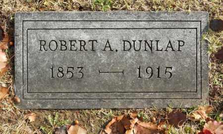 DUNLAP, ROBERT A - Washington County, Oklahoma | ROBERT A DUNLAP - Oklahoma Gravestone Photos