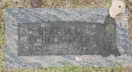 ECHELBARGER, BERTHA O - Washington County, Oklahoma   BERTHA O ECHELBARGER - Oklahoma Gravestone Photos