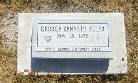 ELLER, GEORGE KENNETH - Washington County, Oklahoma   GEORGE KENNETH ELLER - Oklahoma Gravestone Photos