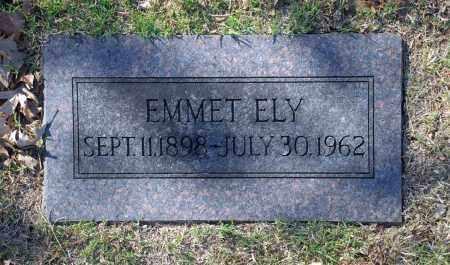 ELY, EMMET - Washington County, Oklahoma   EMMET ELY - Oklahoma Gravestone Photos