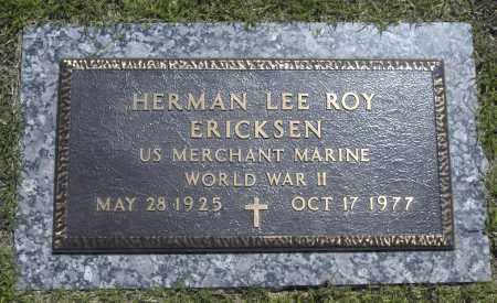 ERICKSEN, HERMAN LEE ROY - Washington County, Oklahoma | HERMAN LEE ROY ERICKSEN - Oklahoma Gravestone Photos