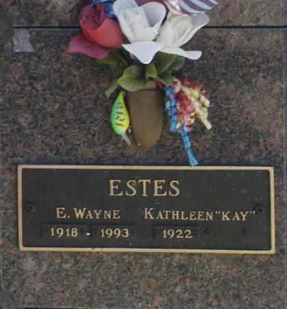 """ESTES, KATHLEEN """"KAY"""" - Washington County, Oklahoma   KATHLEEN """"KAY"""" ESTES - Oklahoma Gravestone Photos"""